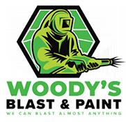 Woody's Blast & Paint Logo